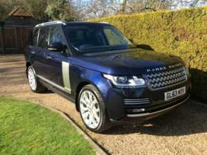 2013 (63) Land Rover Range Rover 3.0 TDV6 Autobiography For Sale In Epping, Essex