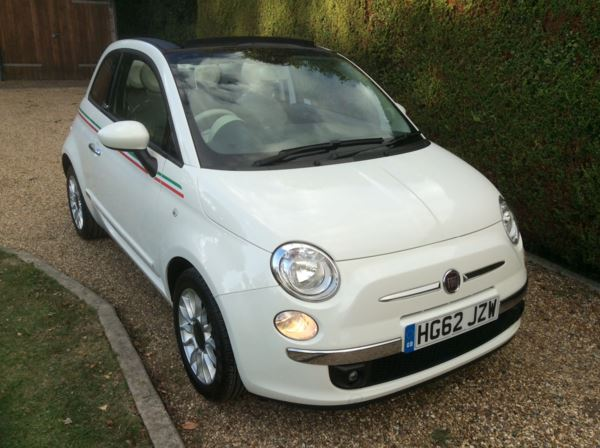 2012 (62) Fiat 500 1.2 Lounge Dualogic Auto For Sale In Epping, Essex