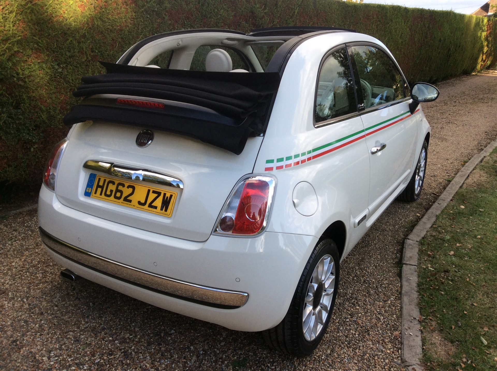 red fiat 500 for sale in essex