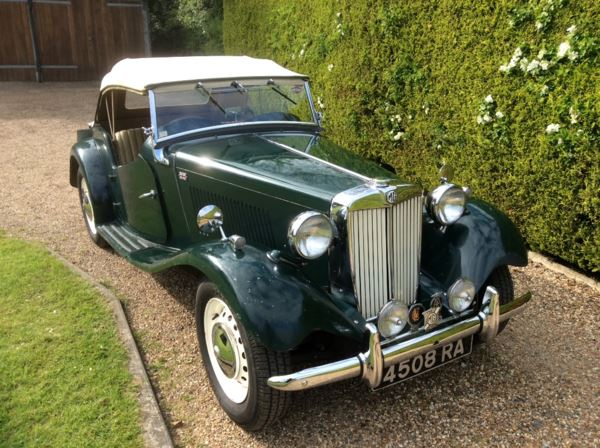 1953 (4) MG TD For Sale In North Weald, Essex