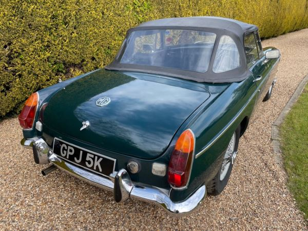 1971 (K) MG B Roadster For Sale In North Weald, Essex