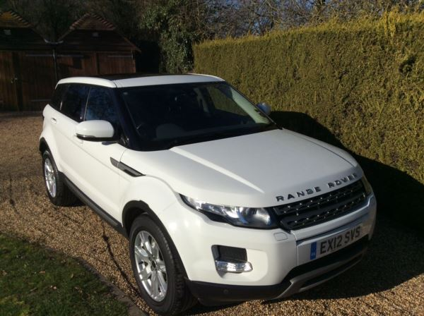 2012 (12) Land Rover Range Rover Evoque 2.2 SD4 Pure 5dr [Tech Pack] For Sale In Epping, Essex