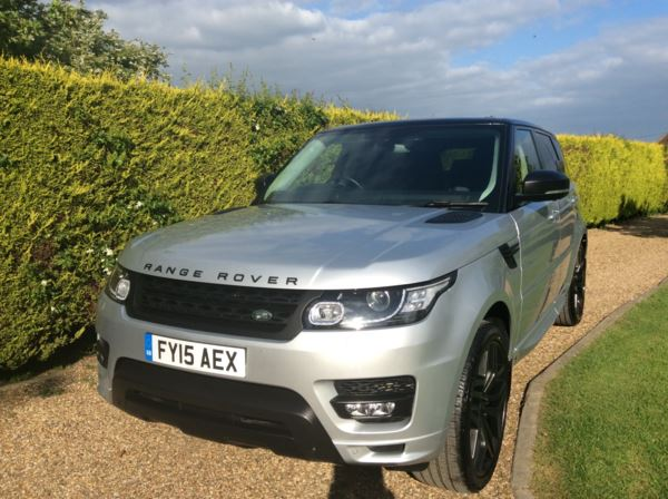 2015 (15) Land Rover Range Rover Sport 3.0 SDV6 [306] Autobiography Dynamic 5dr Auto For Sale In North Weald, Essex