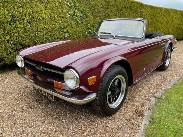 1970 (j) Triumph TR6 CP 150 BHP For Sale In North Weald, Essex