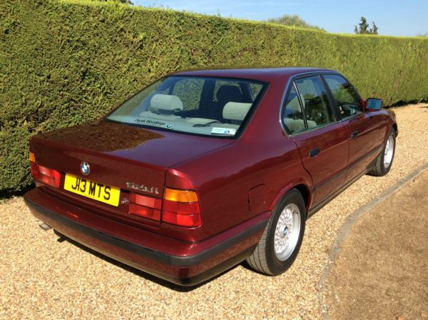 1991 BMW 5 Series 520i SE 4dr Auto For Sale In Epping, Essex