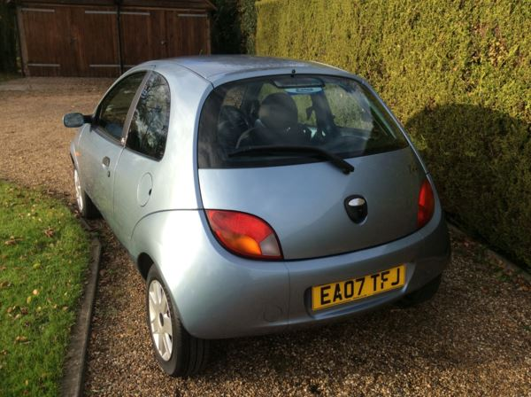 2007 (07) Ford KA 1.3i Style [70] 3dr [Climate] For Sale In Epping, Essex