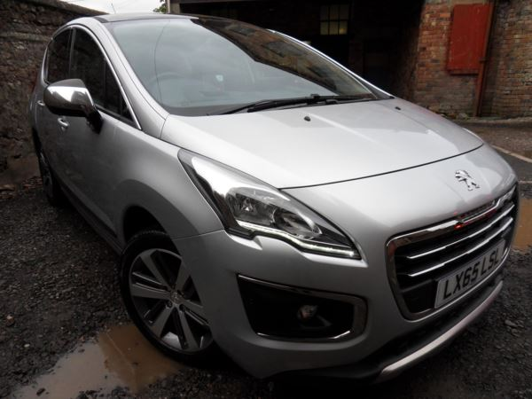 2015 (65) Peugeot 3008 1.6 BlueHDi 120 Allure 5dr For Sale In Blairgowrie, Tayside