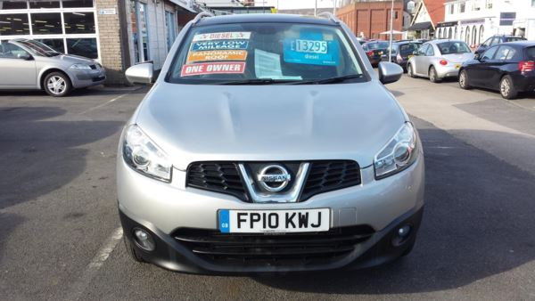 2010 (10) Nissan Qashqai 2.0 dCi Diesel N-Tec 4WD From £10,495 + Retail Package For Sale In Near Blackpool, Lancashire