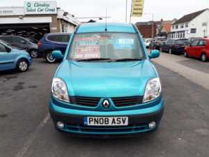 2008 (08) Renault Kangoo 1.6 Expression Auto WAV From £7,195 + Retail Package For Sale In Near Blackpool, Lancashire