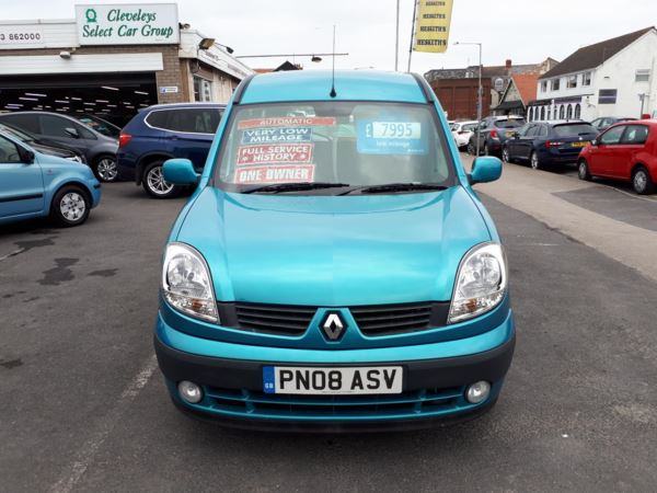 2008 (08) Renault Kangoo 1.6 Expression Auto WAV From £6,995 + Retail Package For Sale In Near Blackpool, Lancashire