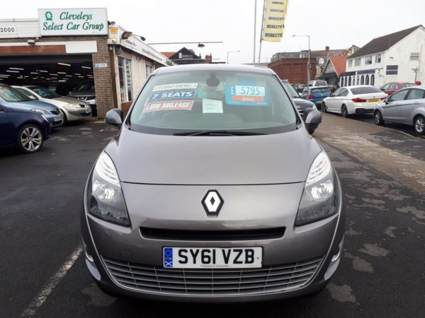 2011 (61) Renault Grand Scenic 1.5 dCi Diesel Dynamique From £4,995 + Retail Package For Sale In Near Blackpool, Lancashire