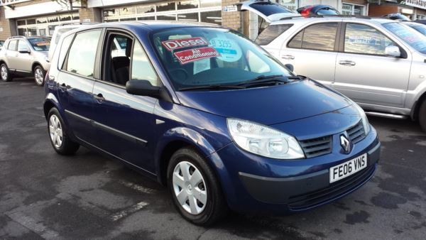 2006 (06) Renault Megane Scenic 1.5 DCi Authentique From £1,995 + Retail Package For Sale In Near Blackpool, Lancashire