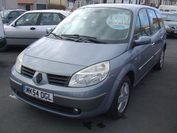 2004 (54) Renault Grand Scenic Diesel Dynamique From £3,495 + Retail Package For Sale In Near Blackpool, Lancashire