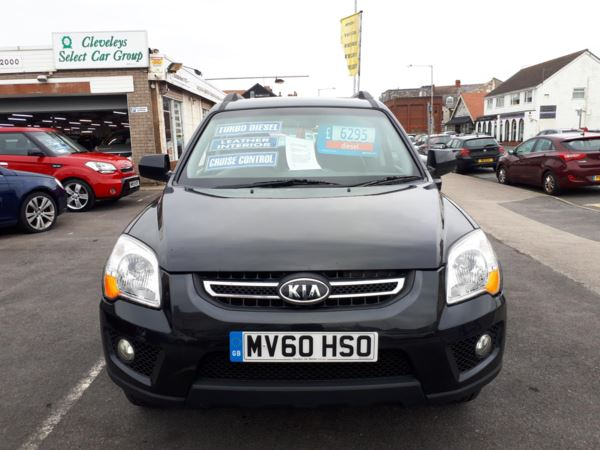 2010 (60) Kia Sportage XS 2.0 CRDi Diesel 4WD From £5,495 + Retail Package For Sale In Near Blackpool, Lancashire