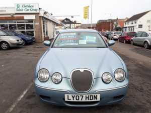 2007 07 Jaguar S-Type 2.7d V6 Diesel SE Automatic From £5,995 + Retail Package 4 Doors SALOON