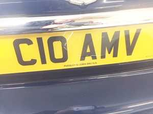 1986 Number Plate For Sale NUMBERPLATE Doors