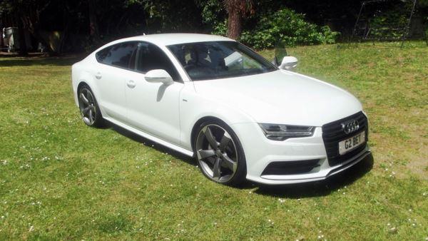 2017 (PP) Audi A7 DIESEL S LINE BLACK EDITION TDI QUATTRO SA 4G SPORTBACK For Sale In Poole, Dorset
