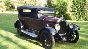 1925 PP Buick 24 FOUR 35 4 DOOR 5 SEATER TOURER 4 Doors Convertible