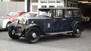 1931 PP Sunbeam 18.2 FOUR DOOR 4 Doors Saloon